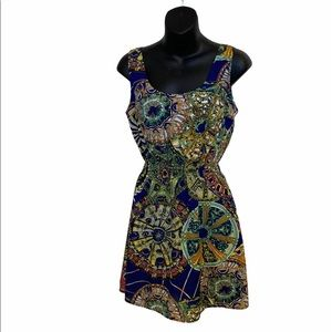 UK2LA multi colour dress